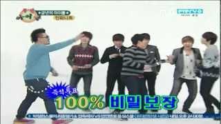 [Infinite] 111224 주간 아이돌 ; Random Dance Game!