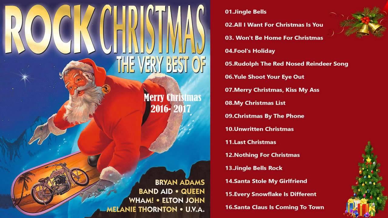 the best rock christmas songs 30 greatest rock christmas collection rock christmas album - Best Rock Christmas Songs
