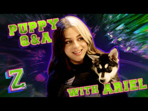 Baby Ariel Puppy Q&A Challenge! 🐶 | ZOMBIES 2 | Disney Channel