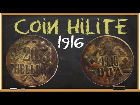 Coin HiLite: 1916 German East Africa 20 Heller