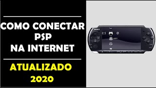 conectar PSP na Internet (via Wireless) sem fio