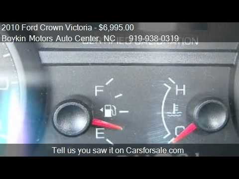 2010 Ford Crown Victoria For Sale In Smithfield Nc 27577