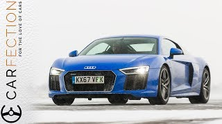 видео Audi R8 V10 RWS