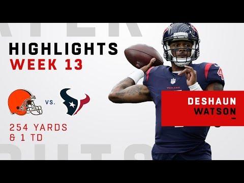 Deshaun Watson Highlights vs. Browns