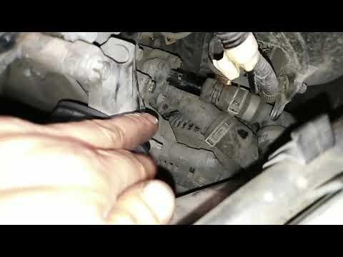 Форд фокус 2 1.6 замена термостата