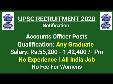 UPSC Enforcement Recruitment 2020 - Any Graduate : B.A / B.Sc/ B.Com/ Btech/ BBA  | All India Job