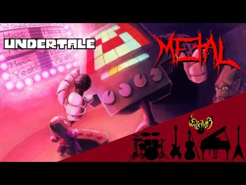 Undertale - Metal Crusher 【Intense Symphonic Metal Cover】