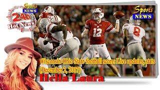SportsNews - Wisconsin Ohio State football score: Live updates, stats (December 2, 2017)