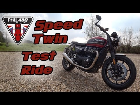 2019 Triumph Speed Twin Test Ride