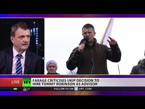 "Batten: ""Tommy Robinson is on our side in regards to #Brexit"""