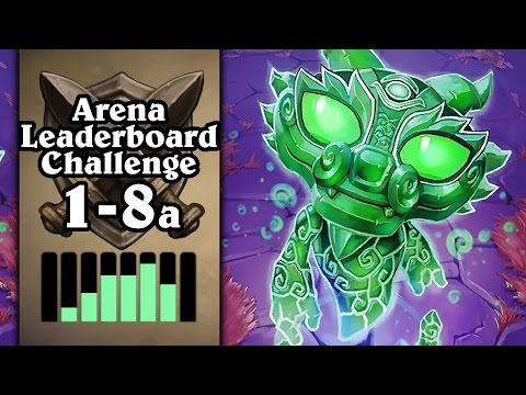 Hearthstone: Arena Leaderboard Challenge 1-8 - When Jade Goes Wrong - Part 1 (Druid Arena)