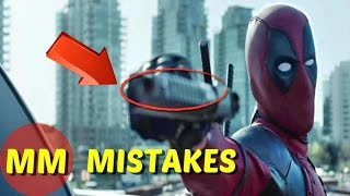 10 Biggest Deadpool Movie MISTAKES You Missed | Deadpool Movie MISTAKES