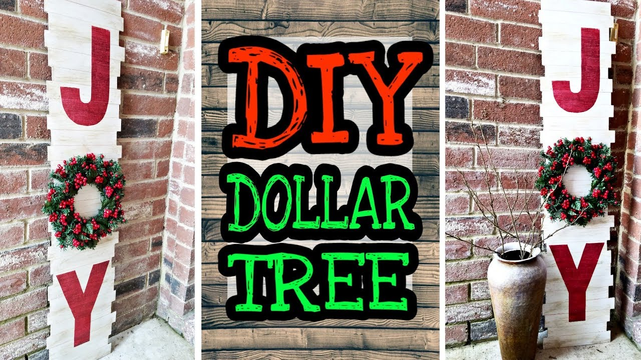 Dollar Tree Diy Christmas Decor Rustic Decorations