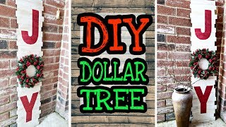 Dollar Tree DIY Christmas Decor / DIY Rustic Christmas decorations