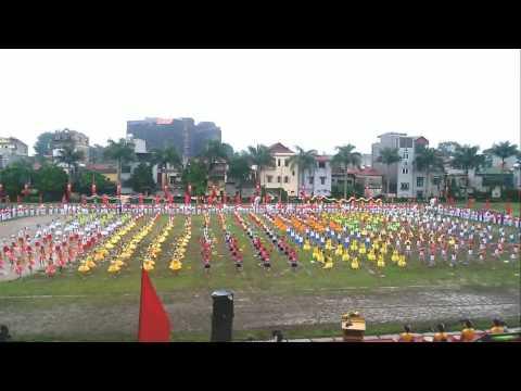 Đồng diễn thể dục - Đại hội TDTT huyện Đông Anh lần thứ 8 năm2013