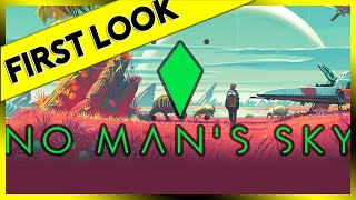First Look At – No Man's Sky – PC Gameplay Review 2016