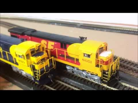Model Railroading: HO Scale BLI Santa Fe C30-7 Engine with DCC and Sound Review