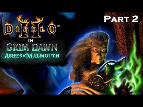 Diablo 2 In Grim Dawn! Reign of Terror Mod - Part 2: Choosing the Necromancer path