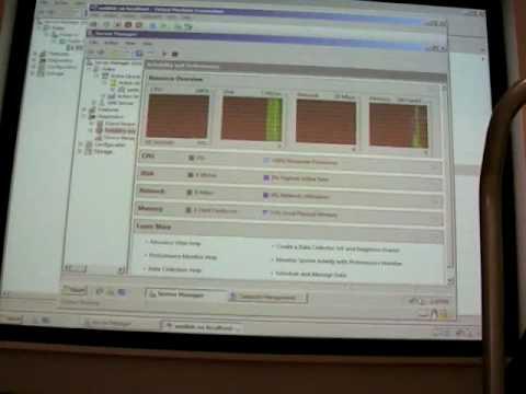 Управление системой: Server Manager,  MMC 3.0, Windows Eventing 6.0, Windows Task Scheduler 2.0. Часть 3