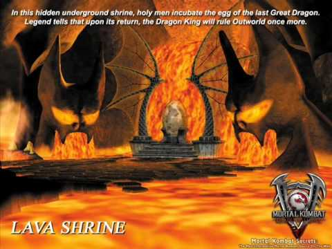 Mortal Kombat Deadly Alliance  Lava Shrine