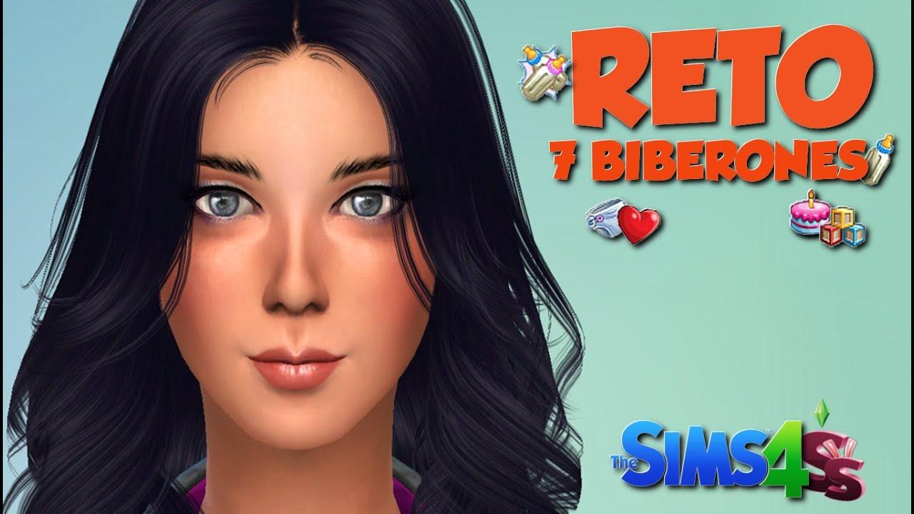 Nueva Serie Reto De Los 7 Biberones Los Sims 4 Youtube