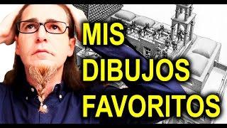 MIS 13 DIBUJOS FAVORITOS TAG / PICASSO / KUBIN / ESCHER / EL BOSCO / MIGUEL ÁNGEL