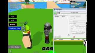How to hack your Ki,attack on roblox Dragon ball online adventure
