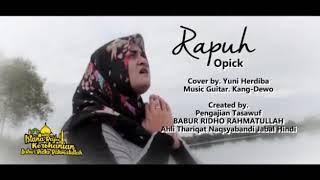 Gambar cover Rapuh - Opick cover By Yuni Herdiba