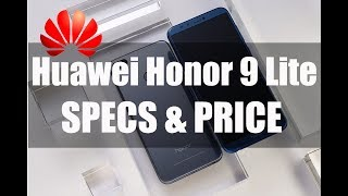 Huawei Honor 9 Lite   Price, Specifications and Features [Tech upto Date]