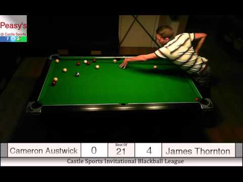 Cameron Austwick Vs. James Thornton £440 Pot