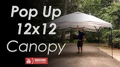 12 x12 Pop Up Canopy for Summer Detailing!