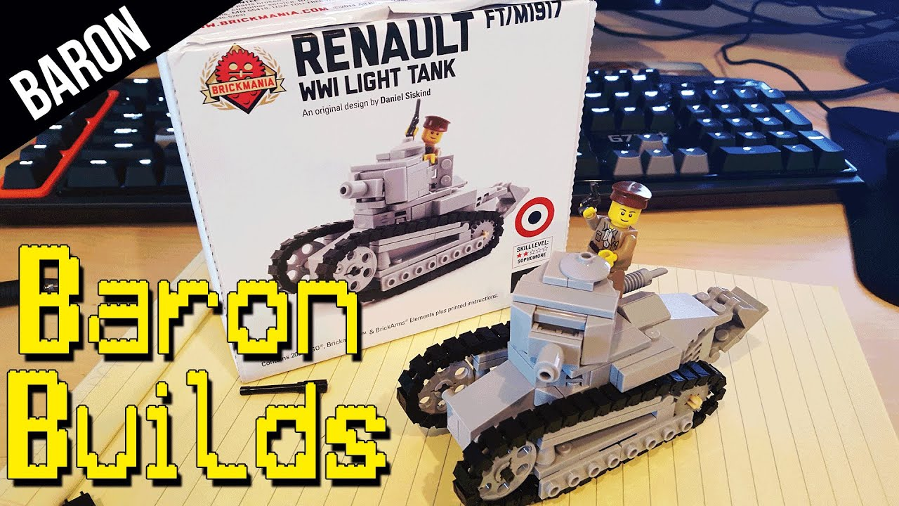 Lego Tank Speed Build