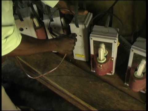 Sunlabob's Solar Lantern Rental System in Uganda