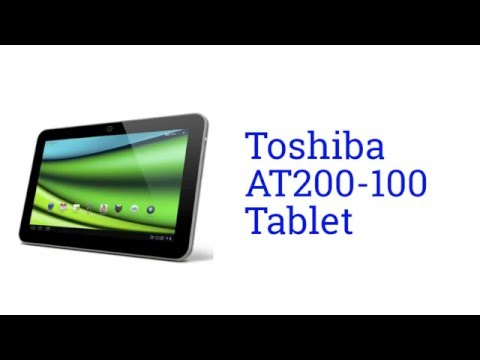 Toshiba AT200-101: Thin Android Tablet