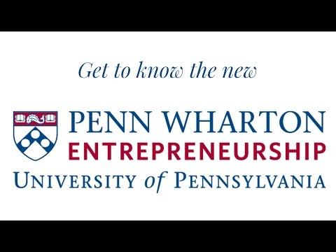 Get to know the new Penn Wharton Entrepreneurship