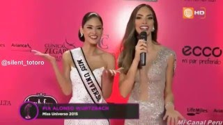 Video Pia Wurtzbach arriving and pink carpet interview at Miss Peru 2016 download MP3, 3GP, MP4, WEBM, AVI, FLV Mei 2018