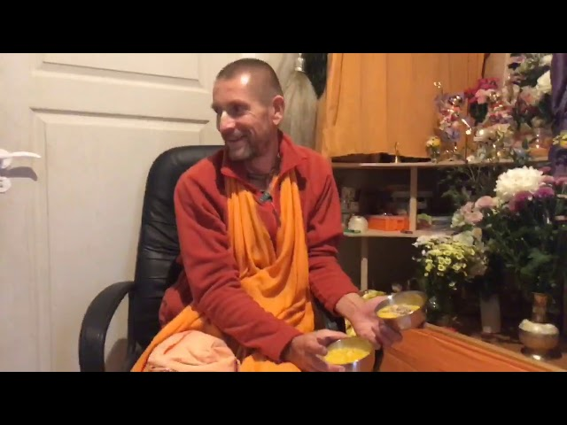 О служении Божествам. Монастырь Святого Имени, 14.09.2020 - Е.С. Ананда Вардхана Свами
