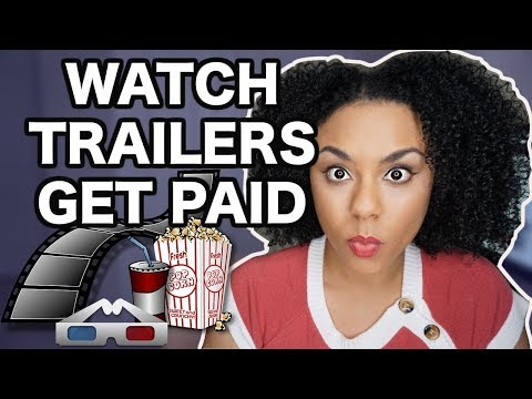 🤑FUN WAY TO MAKE MONEY ONLINE BY WATCHING MOVIE TRAILERS😄