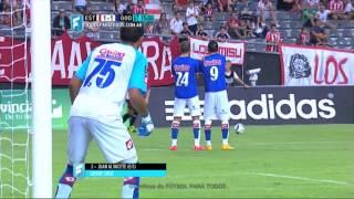 Gol de Alvacete en contra. Estudiantes 1 - Godoy Cruz 1. Fecha 2. Primera División 2015. FPT.