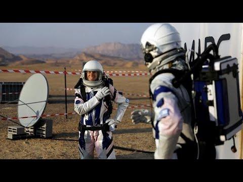 شاهد: تجربة محاكاة للعيش على المريخ في صحراء النقب  - 08:21-2018 / 2 / 19