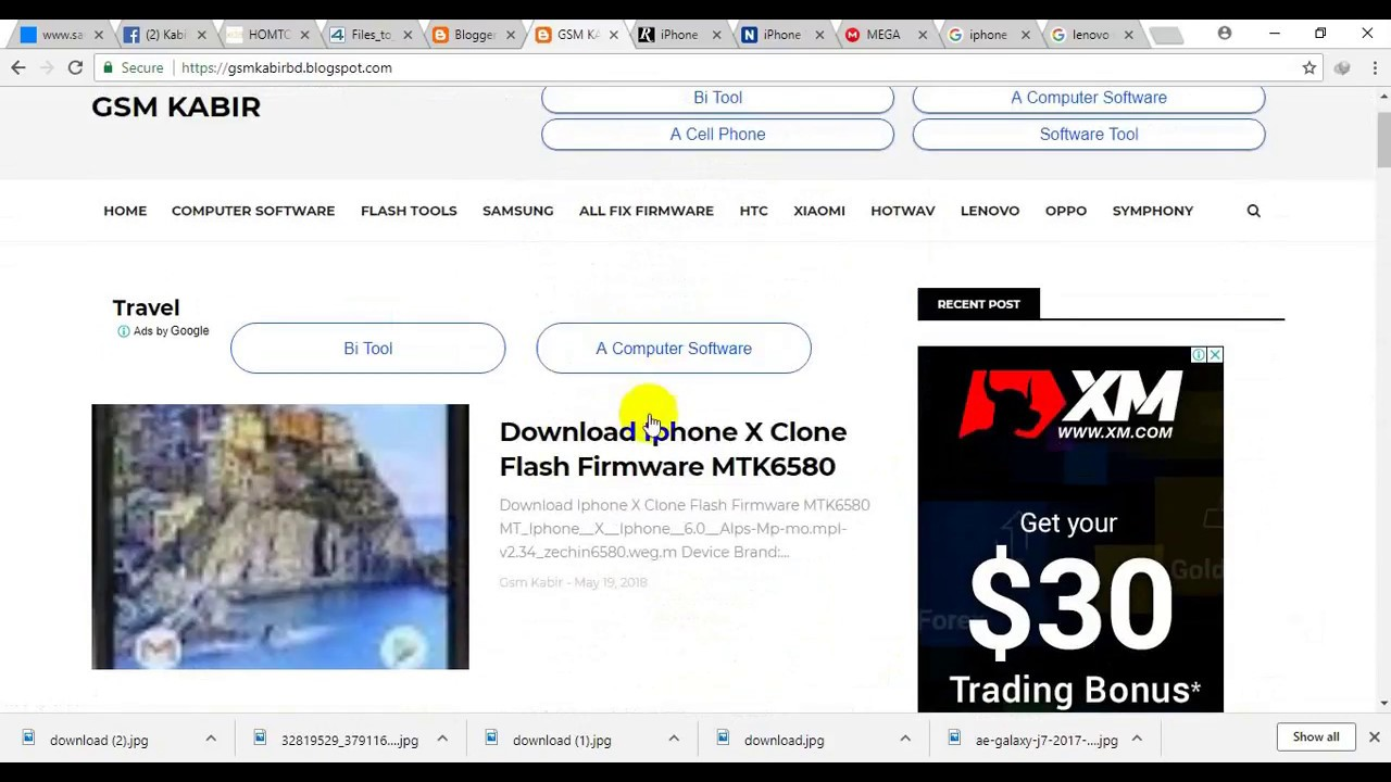 Iphone X Clone MT6580 Flash file Free Download Here