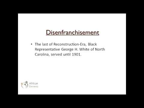 Episode 8 (Segment 3): The Rise Of Jim Crow and Disenfranchisement