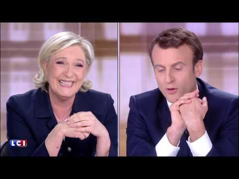 Débat - Macron se moque de Marine Le Pen et de sa poudre de perlimpinpin