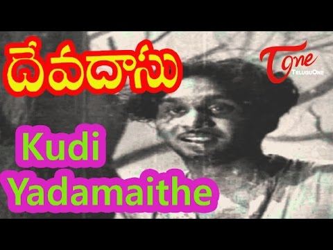 Devadasu Telugu Movie Songs | Kudi Yedamaithe Video Song | ANR | Savitri