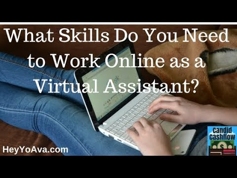15: Virtual Assistant Job Description - What Skills Do You Need? - The Candid Cashflow Podcast |...