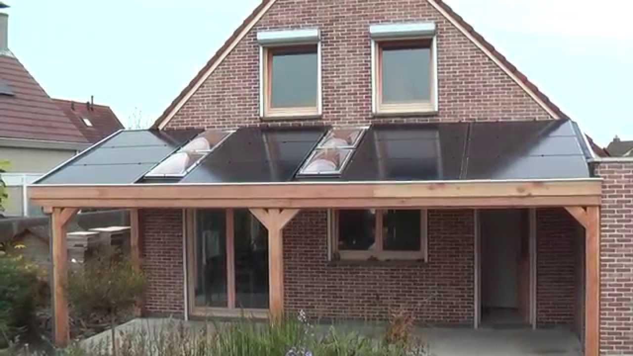 Vaak Overkapping met zonnepanelen - YouTube #CE16