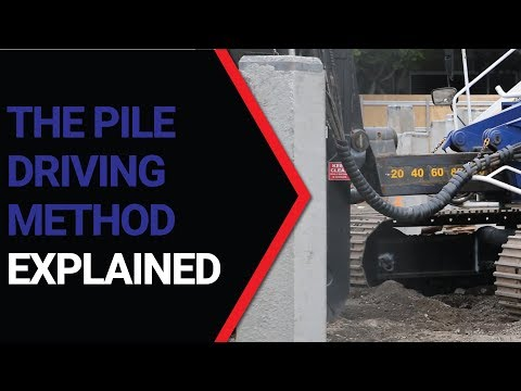 The Pile Driving Method - Junttan Pile Driving Rig
