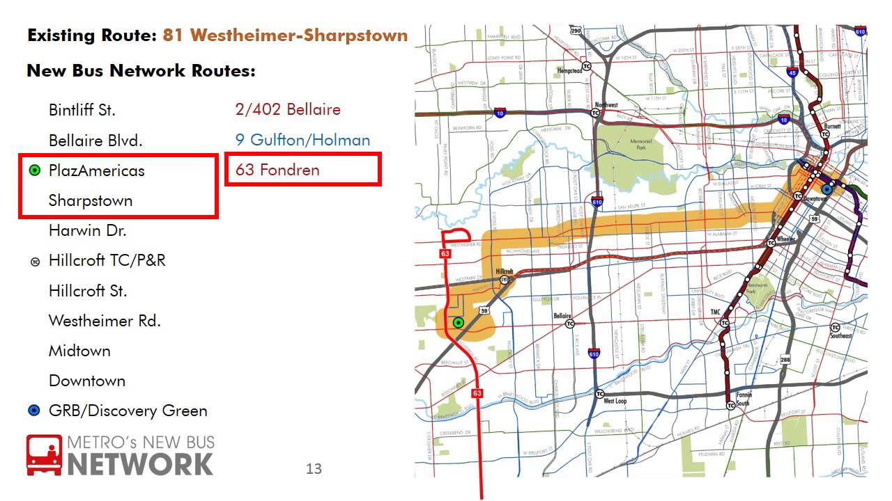 New Bus Network Route - 81 Westheimer