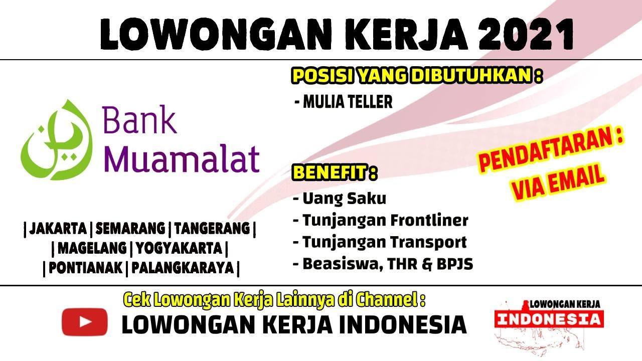 Lowongan Kerja Bank Jogja 2021 Terbaru Cari Kerja