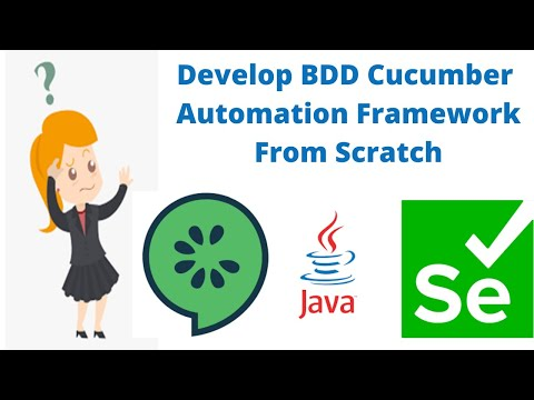 Download Develop Real Time BDD Automation From Scratch Using Selenium with Java #cucumber #bdd #selenium